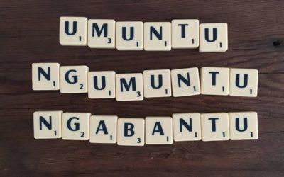 Umuntu ngumuntu ngabantu – I am because you are